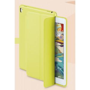Сегментарный чехол книжка подставка на непрозрачной основе для Ipad Pro 10.5  Желтый