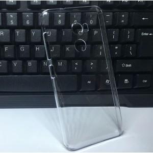 Пластиковый транспарентный чехол для HTC One X10