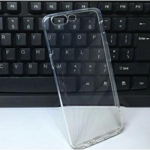 Силиконовый глянцевый транспарентный чехол для OnePlus 5
