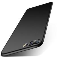Силиконовый матовый непрозрачный чехол для OnePlus 5  Черный