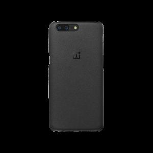Оригинальный пластиковый непрозрачный матовый нескользящий премиум чехол с повышенной шероховатостью для OnePlus 5