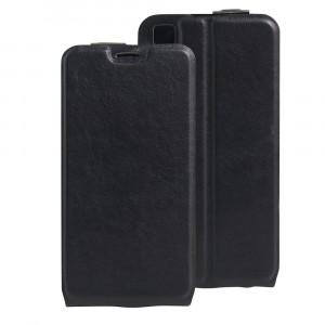 Чехол вертикальная книжка на силиконовой основе с отсеком для карт на магнитной защелке для LG X Style  Черный
