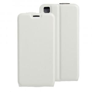 Чехол вертикальная книжка на силиконовой основе с отсеком для карт на магнитной защелке для LG X Style  Белый