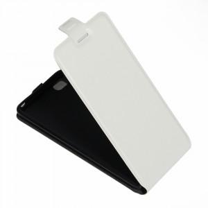 Чехол вертикальная книжка на силиконовой основе с отсеком для карт на магнитной защелке для Xiaomi Mi5C