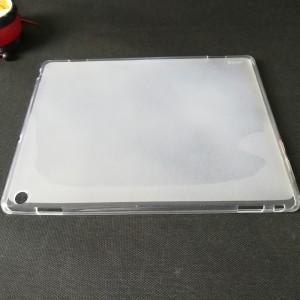 Силиконовый матовый полупрозрачный чехол для Huawei MediaPad M3 Lite 10 Белый