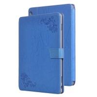 Чехол книжка подставка текстура Узоры на непрозрачной поликарбонатной основе с крепежом для стилуса для Huawei MediaPad M3 Lite 10