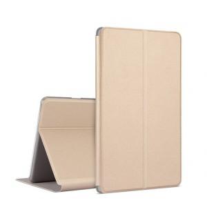 Чехол книжка подставка на непрозрачной поликарбонатной основе для Huawei MediaPad M3 Lite 10