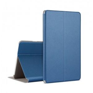 Чехол книжка подставка на непрозрачной поликарбонатной основе для Huawei MediaPad M3 Lite 10 Синий