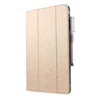 Сегментарный чехол книжка подставка текстура Линии с рамочной защитой экрана для Huawei MediaPad M3 Lite 10
