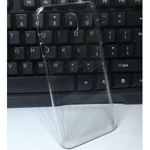 Пластиковый транспарентный чехол для Samsung Galaxy J7 (2017)