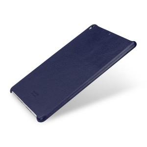 Кожаный чехол накладка (премиум нат. кожа) для Ipad Pro 10.5 Синий