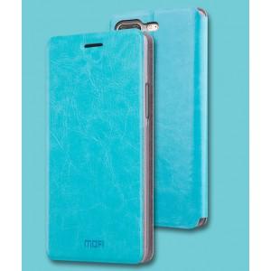 Глянцевый водоотталкивающий чехол горизонтальная книжка подставка на силиконовой основе для OnePlus 5
