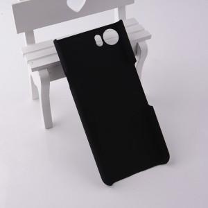 Пластиковый непрозрачный матовый чехол для BlackBerry KEYone