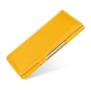 Кожаный чехол горизонтальная книжка на пластиковой основе для BlackBerry KEYone