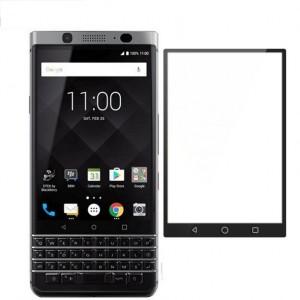 Полноэкранное ультратонкое износоустойчивое сколостойкое олеофобное защитное стекло-пленка для BlackBerry KEYone Черный