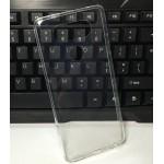 Силиконовый глянцевый транспарентный чехол для LG V20