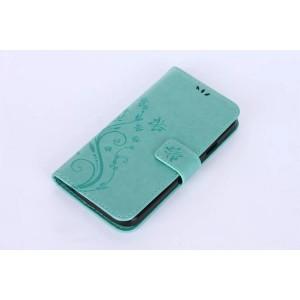 Винтажная чехол портмоне подставка на силиконовой основе на магнитной защелке для Doogee X6