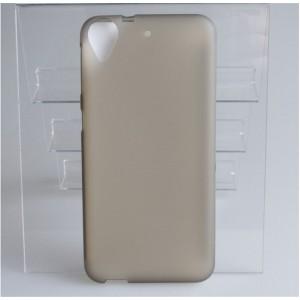 Силиконовый матовый полупрозрачный чехол для HTC Desire 650
