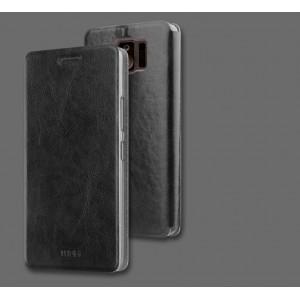 Чехол горизонтальная книжка подставка на силиконовой основе для ASUS ZenFone AR Черный