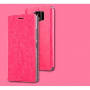 Чехол горизонтальная книжка подставка на силиконовой основе для ASUS ZenFone AR Розовый