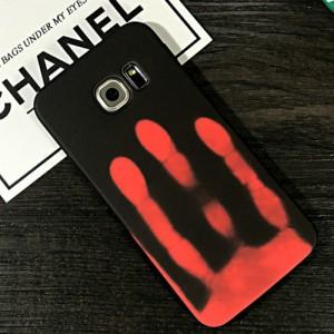 Эксклюзивный термосенсорный силиконовый матовый непрозрачный чехол для Samsung Galaxy S8