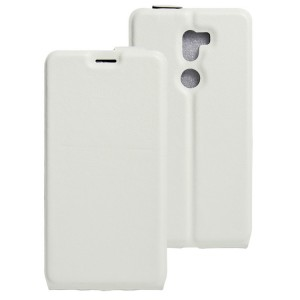 Чехол вертикальная книжка на силиконовой основе на магнитной защелке для Xiaomi Mi5S Plus Белый