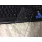 Пластиковый транспарентный чехол для ZTE Blade L3