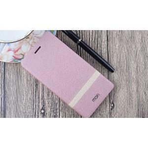 Чехол горизонтальная книжка подставка текстура Линии на силиконовой основе для Nokia 3