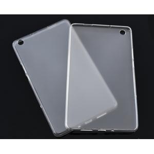 Силиконовый матовый полупрозрачный чехол для Huawei MediaPad M3 Lite 8  Белый
