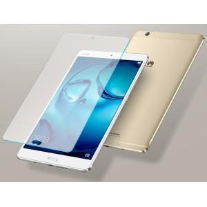 Ультратонкое износоустойчивое сколостойкое олеофобное защитное стекло-пленка для Huawei MediaPad M3 Lite 8