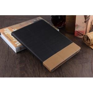 Сегментарный чехол книжка подставка с рамочной защитой экрана, крепежом для стилуса и тканевым покрытием для Lenovo Tab 4 10 Plus