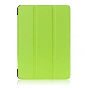 Сегментарный чехол книжка подставка на непрозрачной поликарбонатной основе для Lenovo Tab 4 10 Plus Зеленый