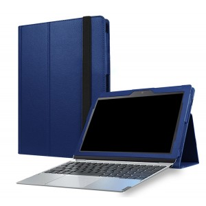 Чехол книжка подставка с рамочной защитой экрана и поддержкой кисти для Lenovo Miix 320