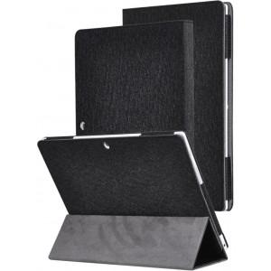 Сегментарный чехол книжка подставка текстура Золото с рамочной защитой экрана для Lenovo Miix 320