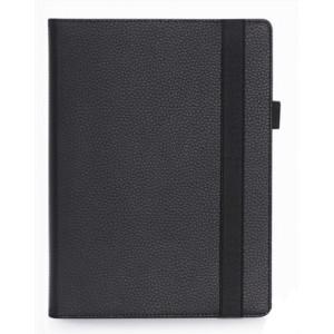 Чехол книжка подставка с рамочной защитой экрана, крепежом для стилуса, отсеком для карт и поддержкой кисти для Lenovo Miix 320