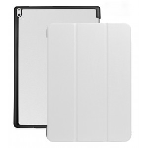Сегментарный чехол книжка подставка на непрозрачной поликарбонатной основе для Lenovo Tab 4 10