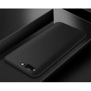 Пластиковый непрозрачный матовый чехол сборного типа с улучшенной защитой элементов корпуса для OnePlus 5