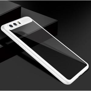 Силиконовый глянцевый полупрозрачный чехол для Huawei Honor 9