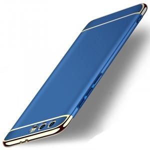 Двухкомпонентный пластиковый непрозрачный матовый чехол сборного типа для Huawei Honor 9