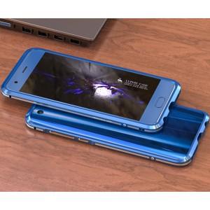 Металлический округлый премиум бампер сборного типа на винтах для Huawei Honor 9