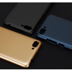 Пластиковый непрозрачный матовый металлик чехол для Asus ZenFone 4 Max