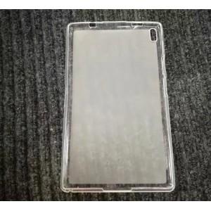 Силиконовый матовый полупрозрачный чехол для Lenovo Tab 4 10 Plus Белый