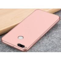 Силиконовый матовый непрозрачный чехол для Xiaomi Mi5X/Mi A1 Розовый