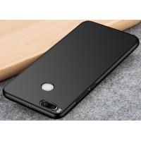 Силиконовый матовый непрозрачный чехол для Xiaomi Mi5X/Mi A1 Черный