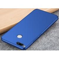 Силиконовый матовый непрозрачный чехол для Xiaomi Mi5X/Mi A1 Синий