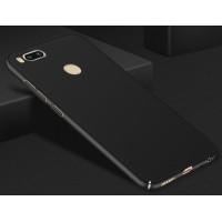 Пластиковый непрозрачный матовый чехол с улучшенной защитой элементов корпуса для Xiaomi Mi5X/Mi A1 Черный