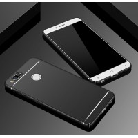 Пластиковый непрозрачный матовый чехол текстура Полосы для Xiaomi Mi5X/Mi A1 Черный