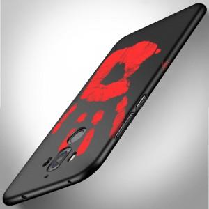 Эксклюзивный термосенсорный силиконовый матовый непрозрачный чехол для Huawei Mate 9 Pro
