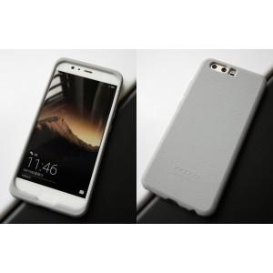 Силиконовый матовый непрозрачный софт-тач премиум чехол для Huawei P10 Plus