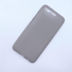 Силиконовый матовый полупрозрачный чехол для ASUS ZenFone 4 Pro  Серый